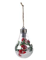 Недорогие -новинка елка украшения лампа солнечный шар медной проволоки лампы подвесной светильник сад подвеска спальня ночник светодиодный