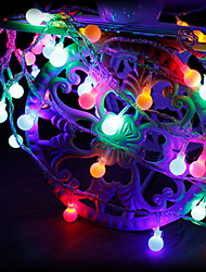 cheap -2m String Lights 20 LEDs Warm White / Color-changing Creative / Party / Decorative USB Powered 1pc