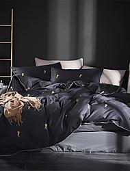 billige -Sengesett Luksus / Moderne Bomull Trykket 4 delerBedding Sets