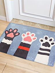 cheap -1pc modern / cartoon bath mats acetate animal creative / non-slip