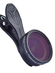 Недорогие -Объектив для мобильного телефона Объектив с фильтром / Широкоугольный объектив стекло / Алюминиевый сплав 1X 37 mm 0.16 m 112 ° Новый дизайн