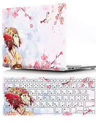 """voordelige -Gecombineerde bescherming Cartoon PVC voor MacBook Pro 13"""" / MacBook Air 13"""" / New MacBook Air 13"""" 2018"""