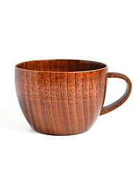 cheap -Drinkware Tea Cup Wooden Heat-Insulated Casual / Daily