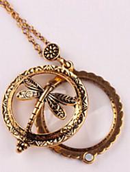 preiswerte -Damen Halskette Künstlerisch lieblich Antike Bronze 30 cm Modische Halsketten Schmuck 1pc Für Alltag