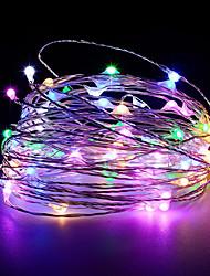 billige -30m Lysslynger 200 LED Varm hvit / RGB / Hvit Kreativ / Kuttbar / Fest 12 V 1pc