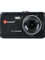 Недорогие -junsun h7c 1296p hd с двумя объективами автомобильный видеорегистратор 170 градусов широкоугольный 1/3 дюйма цветной смос 4-дюймовый ips видеорегистратор с ночным видением / g