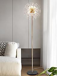 Недорогие -скандинавская современная роскошь хрустальный шар фейерверк звезды торшер творческая личность салон красоты вертикальный фон огни для гостиной спальни