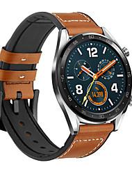 رخيصةأون -حزام إلى Huawei Watch Huawei بكلة عصرية جلد / سيليكون شريط المعصم