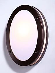 baratos -QIHengZhaoMing LED / Contemporâneo Moderno Lâmpadas de Parede de Exterior Lojas / Cafés / Escritório Metal Luz de parede 110-120V / 220-240V 10 W