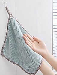 hesapli -Mutfak Temizlik malzemeleri Polyester / Linen Blend Temizlik Fırçası ve Bezi Form Fit 1set