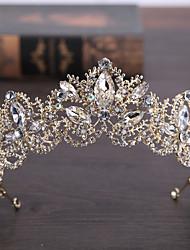 abordables -Decoraciones / Color de la Vela Accesorios para el cabello Legierung Accesorios pelucas Mujer 1 pcs PC N / C cm Escuela / Quinceañera y Dulces Dieciséis / Fiesta de Cumpleaños Cristal / Auriculares