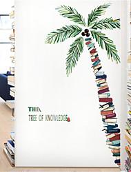 Недорогие -тропическое растение кокосовое дерево стикер стены гостиная спальня обои самоклеящиеся диван фон орнамент плакат наклейки