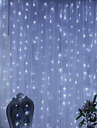 Χαμηλού Κόστους -3M Φώτα σε Κορδόνι 300 LEDs Θερμό Λευκό / RGB / Άσπρο Δημιουργικό / Νεό Σχέδιο / Πάρτι 220-240 V / 110-120 V 1pc