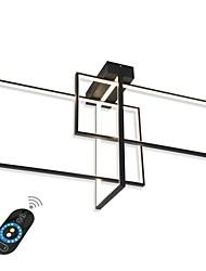 Недорогие -современные встраиваемые светильники / светодиодный потолочный светильник для гостиной / столовой / теплый белый / белый / с возможностью затемнения с пультом дистанционного управления / Wi-Fi