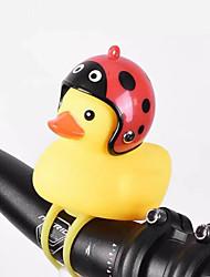 Недорогие -Белл утка свет рога колокол шлем для скутера грязи дети карманный велосипед мотоцикл руль