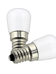 ieftine -1.5 W Bulb LED Glob 85 lm E14 T22 1 LED-uri de margele SMD Decorativ Încântător Alb Cald Alb Rece 220 V 110 V, 2pcs