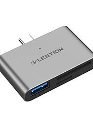 voordelige -Type-C USB kabeladapter 1 tot 3 Adapter Voor Macbook / iPad / Samsung 0 cm Voor Aluminium