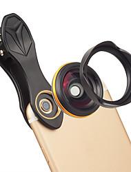 Недорогие -Объектив для мобильного телефона Широкоугольный объектив стекло / Алюминиевый сплав 1X 37 mm 0.15 m 115 ° Новый дизайн