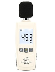 Недорогие -Цифровой измеритель уровня звука Benetech GM1352 30-130 дБ Шум Мониторинг громкости звука Тест дБ Детектор децибел с подсветкой ЖК-дисплея