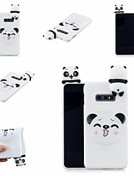 abordables -Coque Pour Samsung Galaxy S9 Plus / S8 Plus Motif Coque Bande dessinée / Panda Flexible TPU pour S9 / S9 Plus / S8 Plus