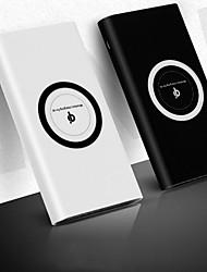 Недорогие -10000 mAh Назначение Внешняя батарея Power Bank 5 V Назначение 2.1 A Назначение Зарядное устройство Беспроводное зарядное устройство LED