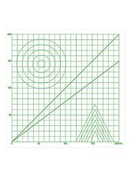 ieftine -3d stilou de imprimare translucid mat de bază grafică din plastic de plastic jucării pentru copii de învățământ accesorii auxiliare
