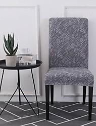 levne -Potah na židli Současné S potiskem Polyester potahy