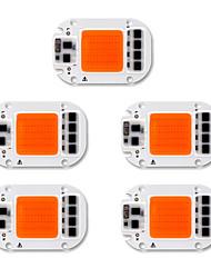 Недорогие -5 шт. Початок 220-240 В 110-130 В DIY алюминиевый светодиодный расти шарик початка чип для diy завод посевной свет 50 Вт