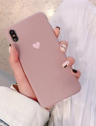 Недорогие -чехол для яблока iphone xr / iphone xs max шаблон задняя крышка сердце мягкое тпу для iphone x xs 8 8plus 7 7plus 6 6s 6plus 6s plus