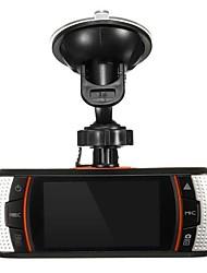 Недорогие -720p HD / Ночное видение Автомобильный видеорегистратор 140° Широкий угол 2.7 дюймовый TFT Капюшон с Ночное видение / G-Sensor / Обноружение движения Автомобильный рекордер