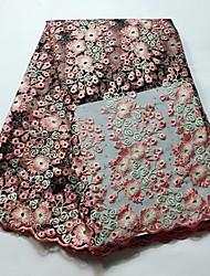baratos -Rendas Floral Estampada 120 cm largura tecido para Casamento vendido pelo Jarda