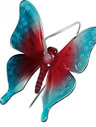 Недорогие -Новинка новый изменение цвета светодиодные солнечные колокольчики лампы водонепроницаемый бабочка солнечной энергии света для домашней вечеринки садовый декор