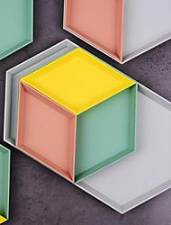 billige -Plastikker Som på Bilde 4 deler Oppbevaringskasse / Oppbevaringsbokser / Penneholdere & Pennal 32*18*1.7 cm