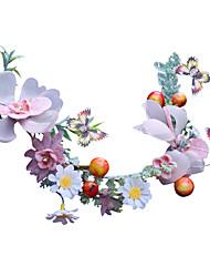 halpa -Tylli Headpiece kanssa Kukkakuvio 1 Kappale Häät / Kausaliteetti Päähine