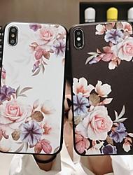 abordables -Coque Pour Apple iPhone XR / iPhone XS Max Dépoli / Motif Coque Fleur Flexible TPU pour iPhone XS / iPhone XR / iPhone XS Max