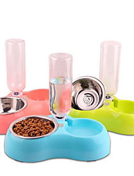 povoljno -0.45 L Psi / Mačke Zdjele i boce s vodom / Uvlakači Ljubimci Zdjele & Hranjenje Može se prati Zelen / Plava / Pink