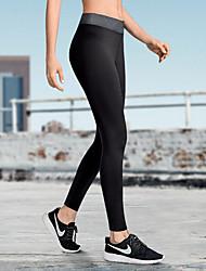 ราคาถูก -สำหรับผู้หญิง กางเกงโยคะ Yoga Shorts Artistic Gymnastics Leotards สีดำ สีเทา กีฬา สีทึบ Elastane ถุงน่องการขี่จักรยาน ด้านล่าง วิ่ง การออกกำลังกาย ยิมออกกำลังกาย ชุดทำงาน แห้งเร็ว Butt Lift Tummy