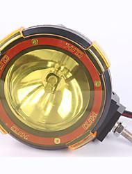 Недорогие -55 Вт 9 дюймов от дороги 6000 К 55 Вт прожектор ксеноновая лампа супер яркий внедорожник прожектор вспомогательная лампа крыши