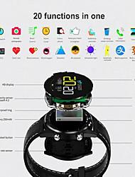 Недорогие -KUPENG GT28 Универсальные Смарт Часы Android iOS Bluetooth Smart Спорт Водонепроницаемый Пульсомер Измерение кровяного давления / Сенсорный экран / Израсходовано калорий / Длительное время ожидания