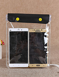 Недорогие -Защитная сумка Сотовый телефон сумка Мобильный телефон сумка для Дожденепроницаемый Водонепроницаемаямолния 1 дюймовый ПВХ 15 m