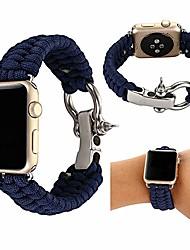 voordelige -Horlogeband voor Apple Watch Series 4/3/2/1 Apple Sportband Stof Polsband