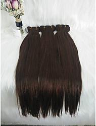 """זול -שיער קלוע ישר הארכה שיער אנושי חלק 1 שיער צמות חום 18 אִינְטשׁ 18"""" משיי / מכירה חמה / חמוד חופשה / רחוב / פֶסטִיבָל שיער ברזיאלי"""