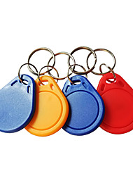 voordelige -5YOA 100KeyIC RFID-keyfobs Thuis / Appartement / School
