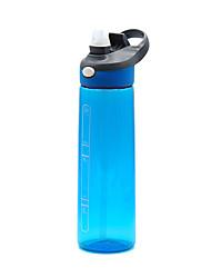 Недорогие -чайник Бутылки для воды Бутылка для воды 700 ml PP Прочный для Отдых и Туризм Велосипедный спорт / Велоспорт Путешествия Черный Фиолетовый Грубый черный Небесно-голубой Пурпурный