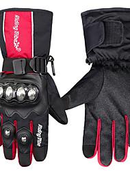 Недорогие -Мужские перчатки для мотоциклетных зимних теплых водонепроницаемых протекторов с сенсорным экраном