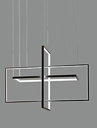Недорогие -63 Вт современный стиль три кадра сочетание светодиодная люстра гостиная спальня столовая подвесной светильник