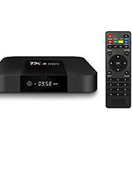 Недорогие -TX3 мини Android 7.1 Smart TV Box 1 ГБ 8 ГБ Amlogic S905W Quad Core Set Top Box H.265 4K Wi-Fi медиа-плеер