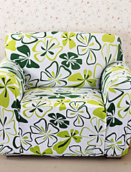 cheap -Sofa Cover High Stretch Flower Printed Soft Elastic Polyester Slipcovers