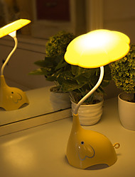 billige -1pc Nursery Night Light / Smart Night Light Usb Sikkerhed / Smart / Genopladelig 5 V