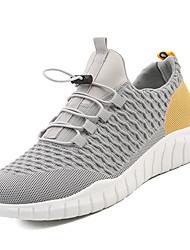 Недорогие -Муж. Комфортная обувь Tissage Volant Весна На каждый день Спортивная обувь Для прогулок Дышащий Черный / Белый / Серый